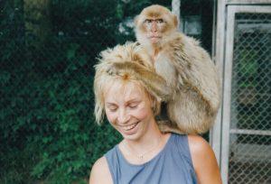 JK und Affe 08.1998